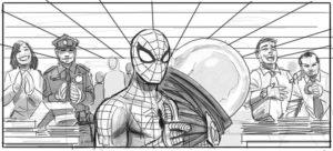 spider-man-4-storyboards-Mysterio