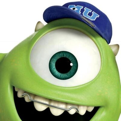 Mike Wasowski from Monsters University