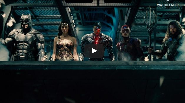 JUSTICE LEAGUE – Official Trailer