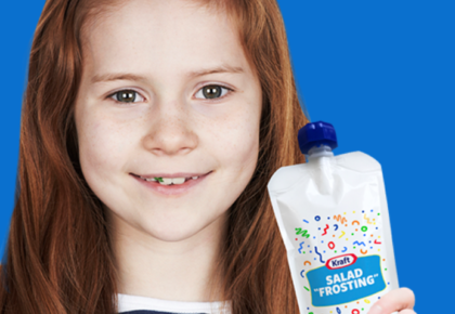 Kraft Introduces Salad Dressing Rebranded as 'Frosting', Along With A Lying Contest